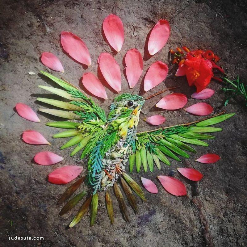 Hannah Bullen-Ryner 花的艺术