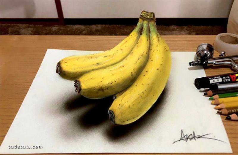 ARIA_art 超现实主义手绘立体插画欣赏