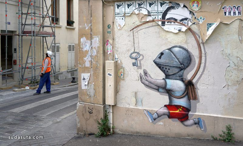 Julien Malland 城市艺术