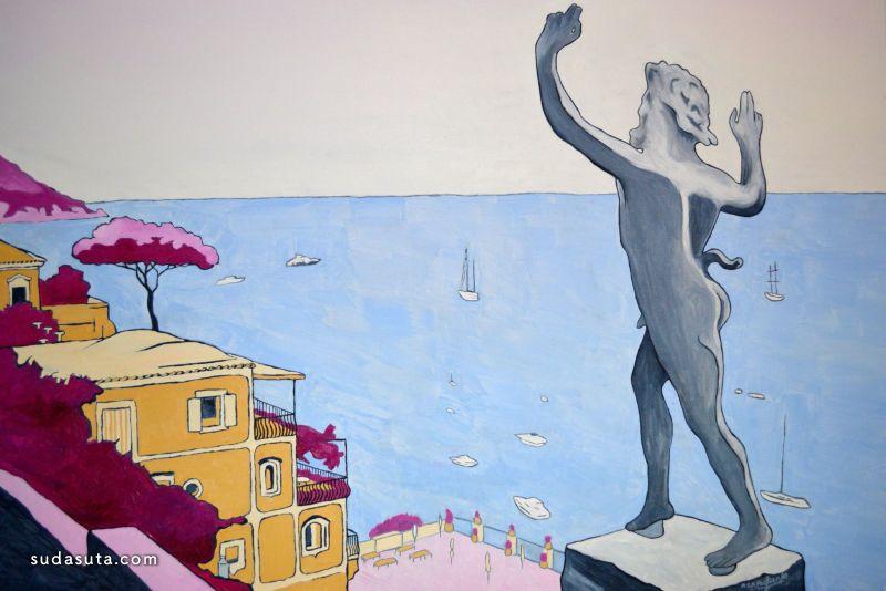 Roberto Pagliarulo 绘画艺术欣赏