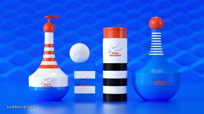 Sur la mer 有趣的视觉包装设计