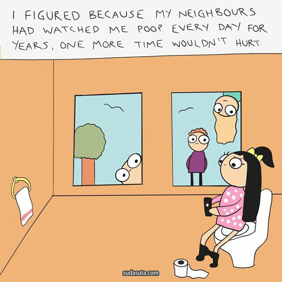 Anita Myrvang 《关于昨夜》描绘奇怪梦境的漫画