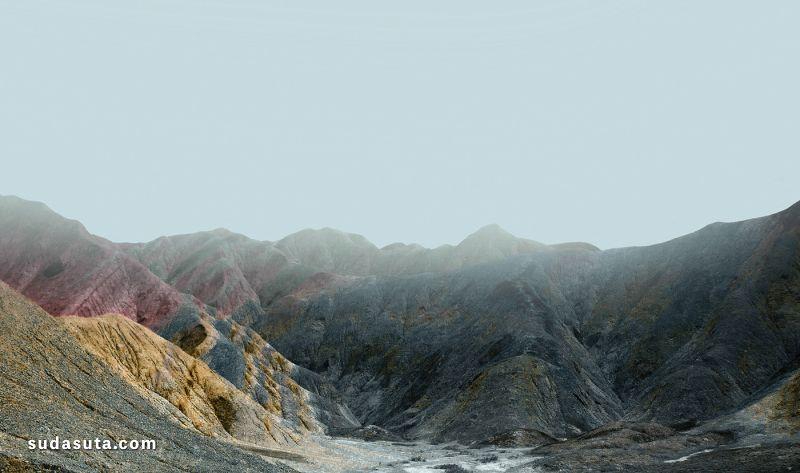 Jonas Daley 旅行摄影《Colorful Danxia》