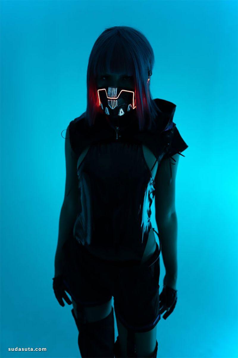 Shuka 恶魔的面具 机甲设计欣赏