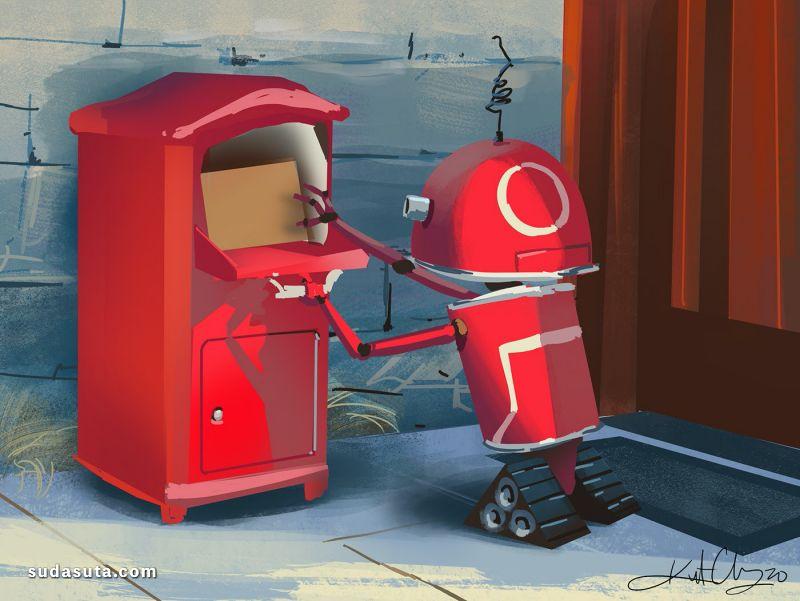 Kurt Chang 二次元漫画