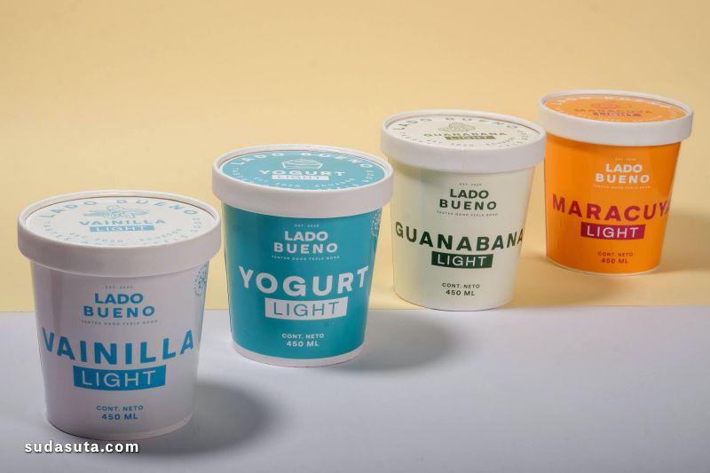 Lado Bueno 美味冰激凌 包装设计欣赏