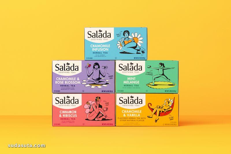 Salada Tea 包装设计欣赏