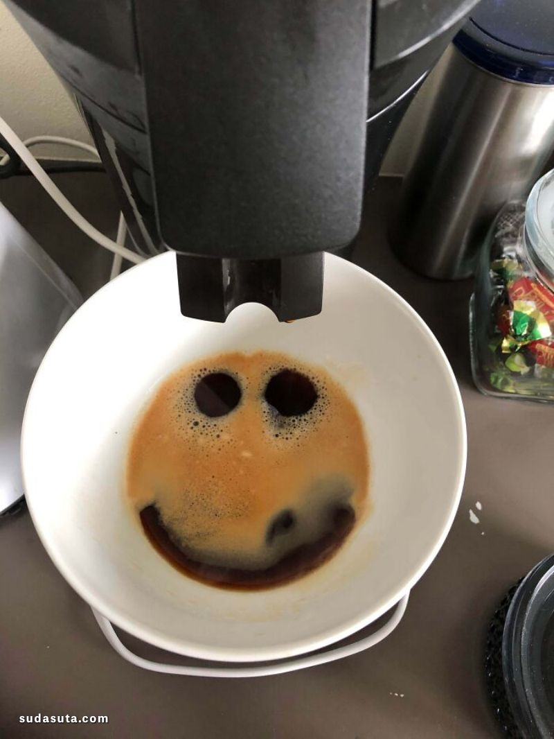 """""""偶然的咖啡艺术"""" 爱咖啡爱生活!"""