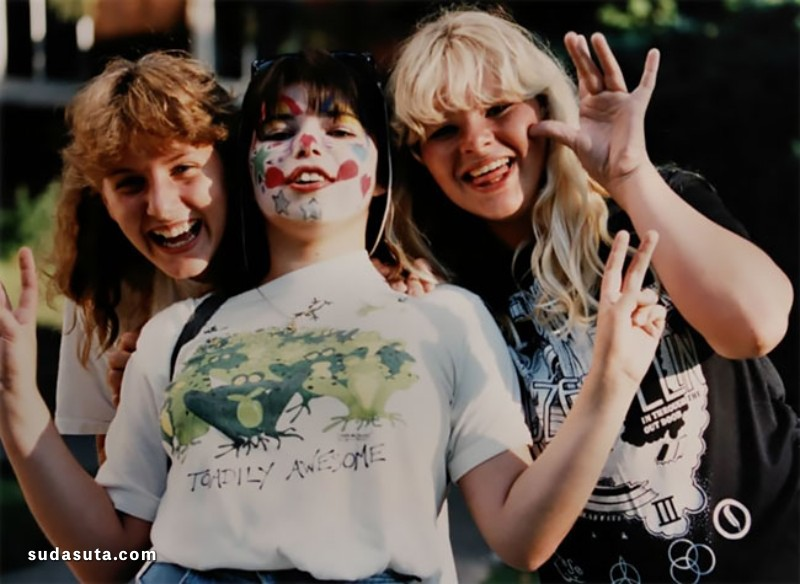 80年代青春城市街拍