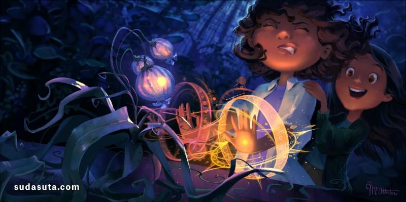 Cathleen McAllister 动画视觉渲染 CG 欣赏