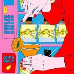 Kine Andersen 潮流时尚插画欣赏
