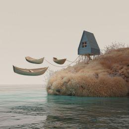 Murat Yıldırım 抽象3D艺术渲染