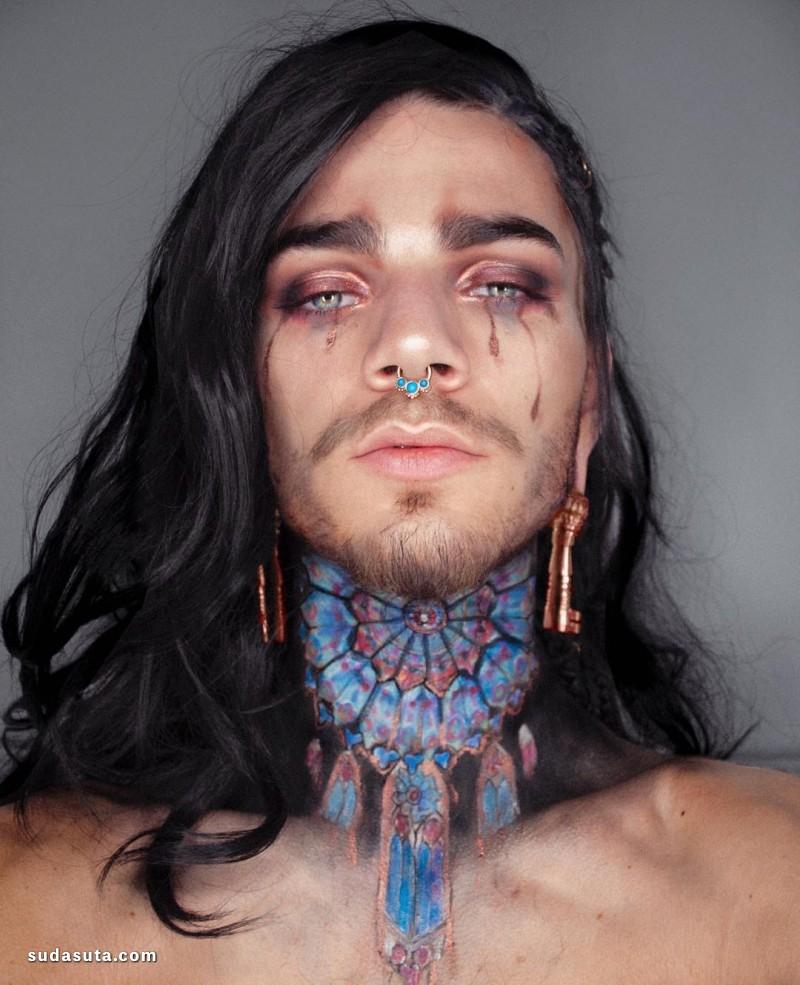 Nils Verberne 时尚彩妆设计欣赏