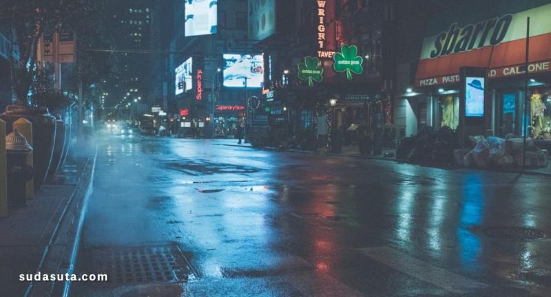 Thibault Bunoust 纽约雨夜