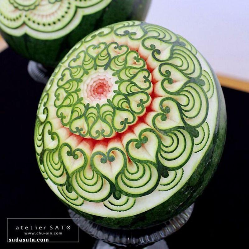美食艺术家 Tomoko Sato