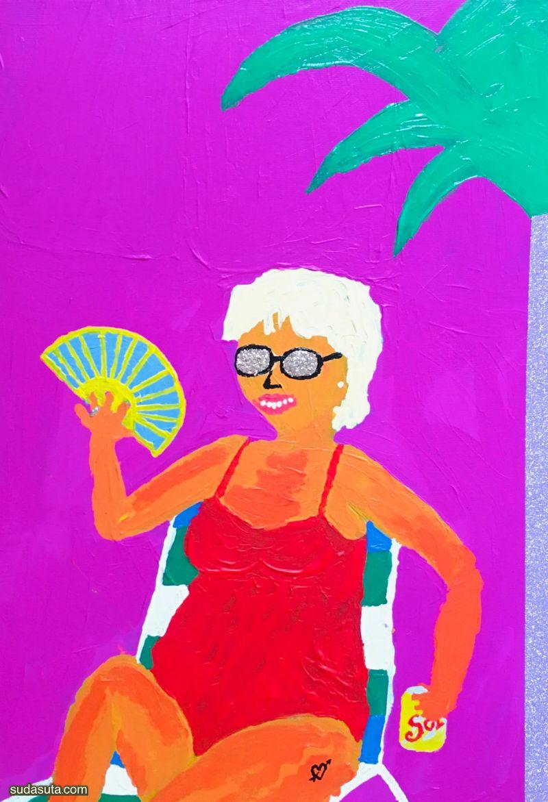 Marta Morientes 个性插画欣赏