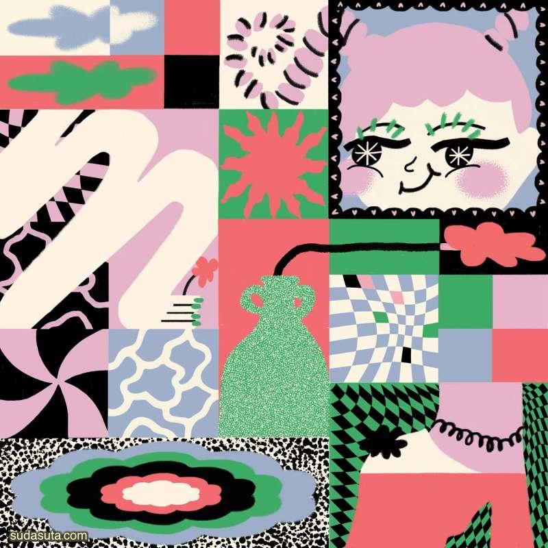 Owi Liunic 创意拼贴插画作品欣赏