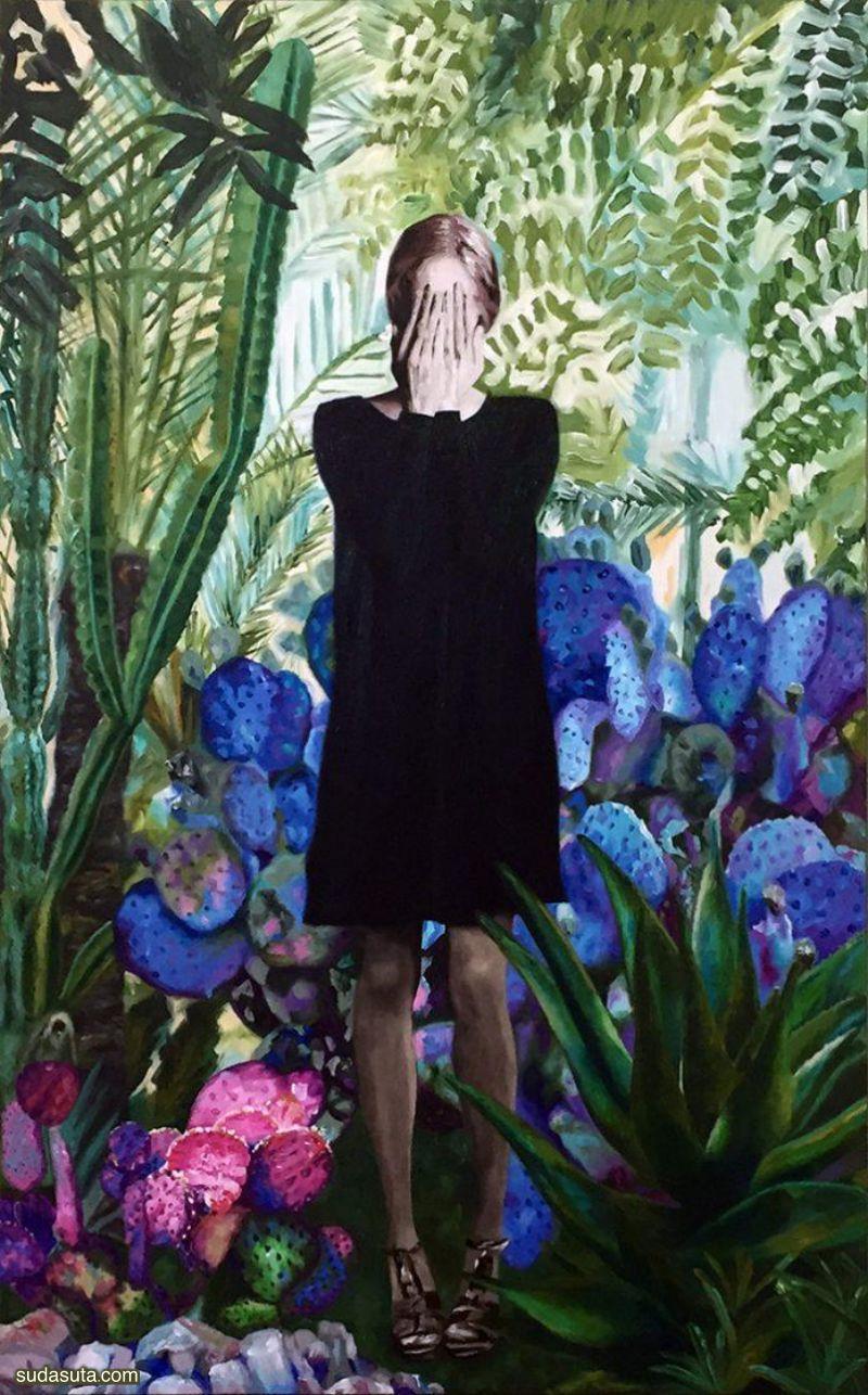Valerie Andriantsiferana 超现实主义绘画艺术欣赏