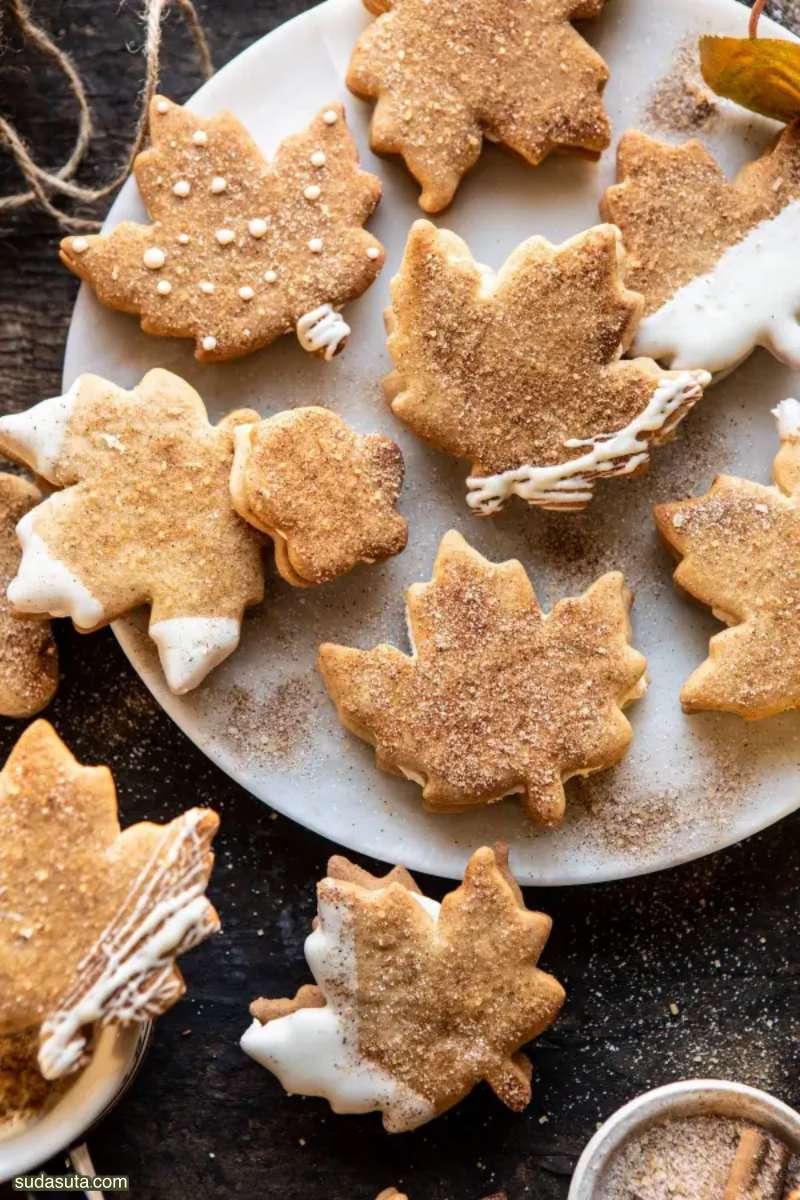 圣诞节主题曲奇饼干设计欣赏