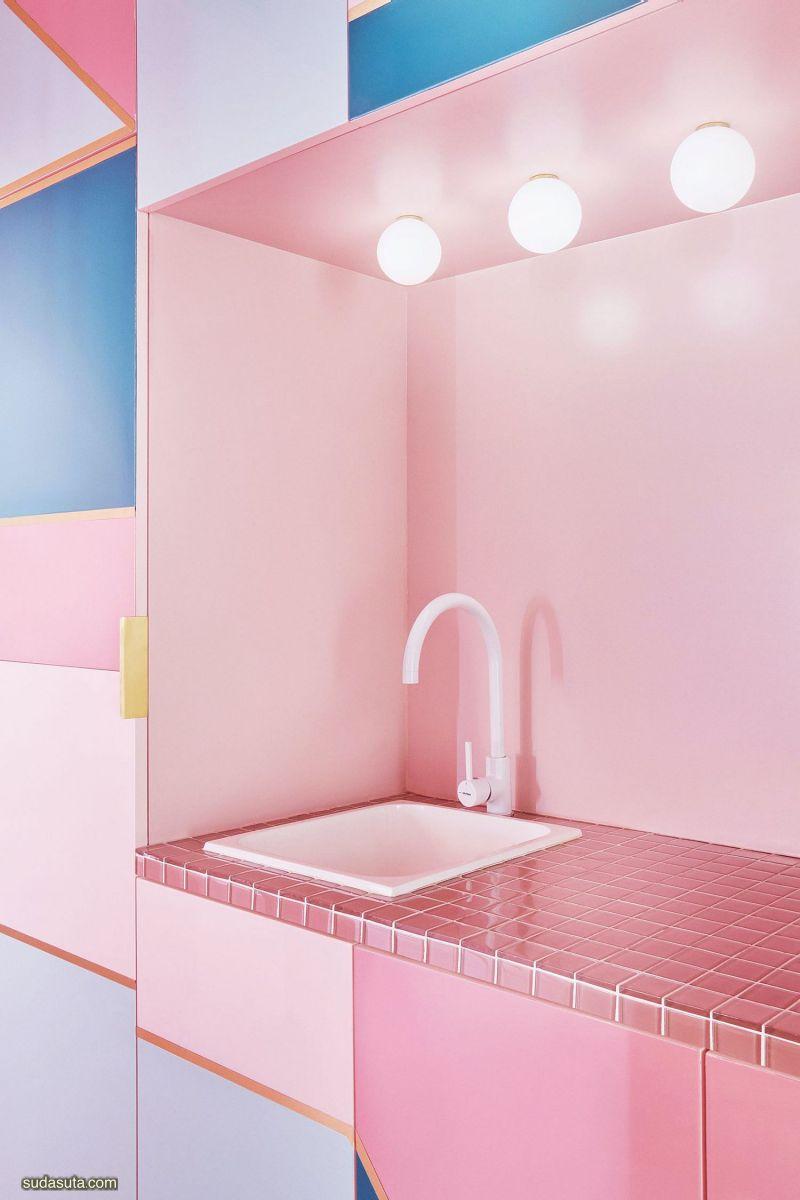 Patricia Bustos 粉红色 不可思议的室内设计