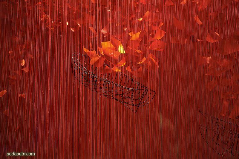 Chiharu Shiota 装置设计欣赏