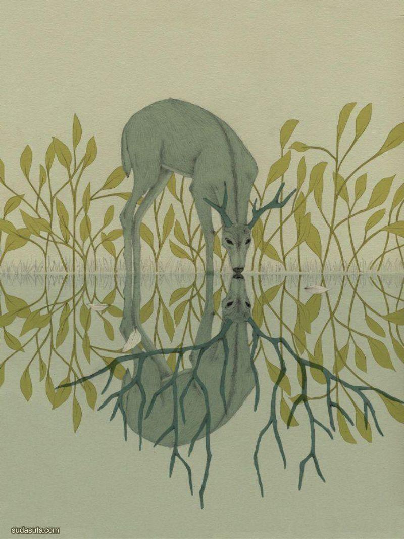 Lulo Febril 细腻唯美的个人插画作品欣赏