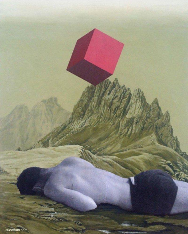 Marcos Martinez 混合拼贴艺术欣赏