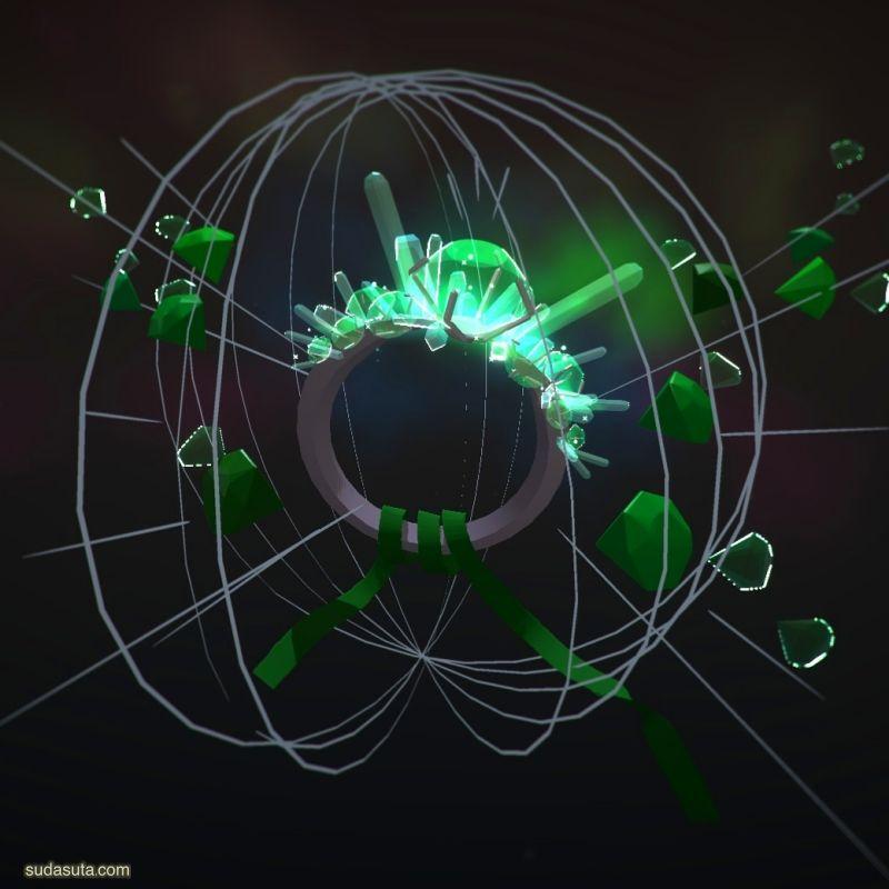 Nadia Bey VR新媒体混合插画欣赏