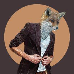 Paul Kingsley Squire 动物肖像插画欣赏