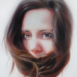 Roos van der Vliet 超现实主义肖像插画欣赏