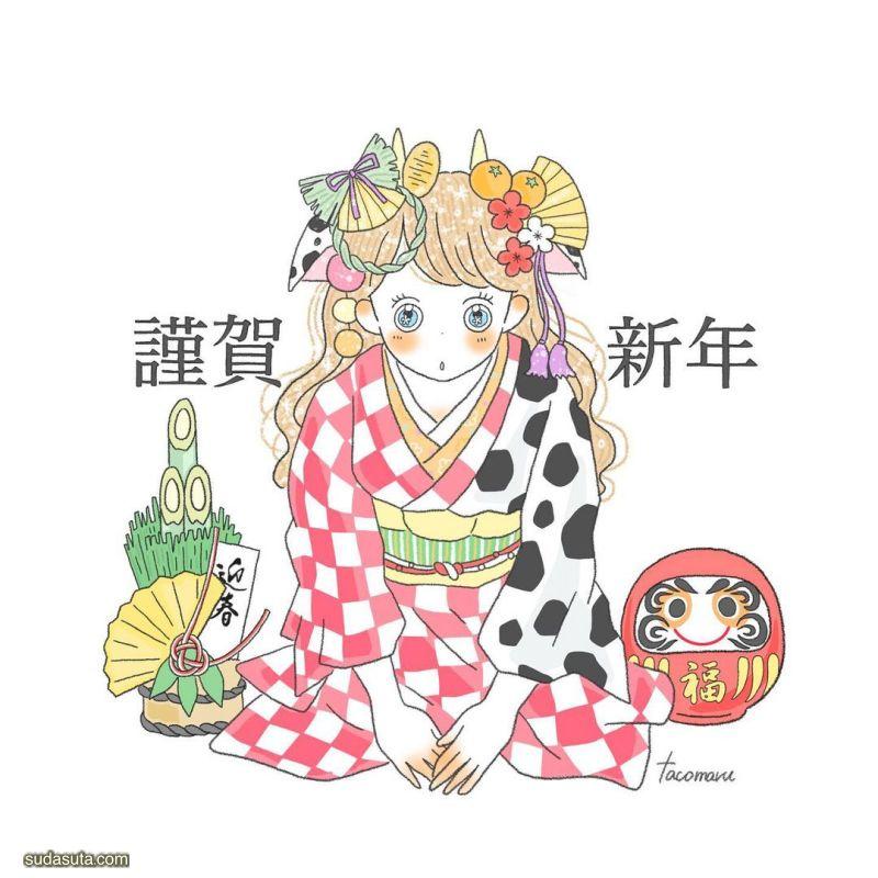 Tacomaru 有趣的同人小漫画