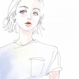 Sotoko 短发女生 二次元美少女速写