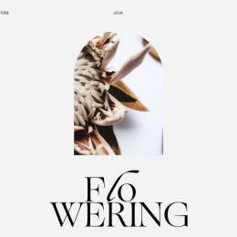 Flowering 网页设计欣赏