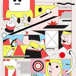 Anil Rinat 抽象图形设计欣赏