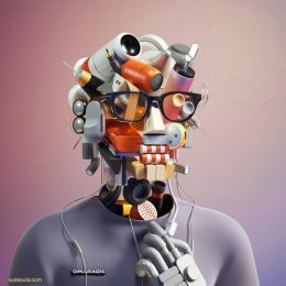 Omar Aqil 3D造型设计欣赏