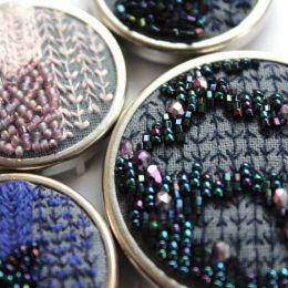 Rosie Wright 刺绣串珠时尚设计欣赏